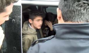 Турецкие Ромео и Джульетта пытались скрыться от полиции на машине родителей
