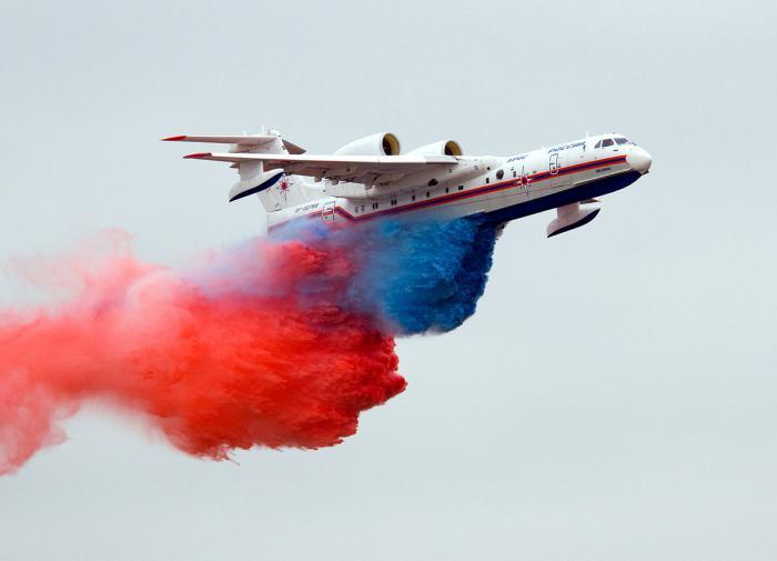 В Турции потерпел крушение пожарный самолёт Бе-200