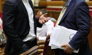 На Украине поняли: плохо что у депутатов Рады нет политического опыта
