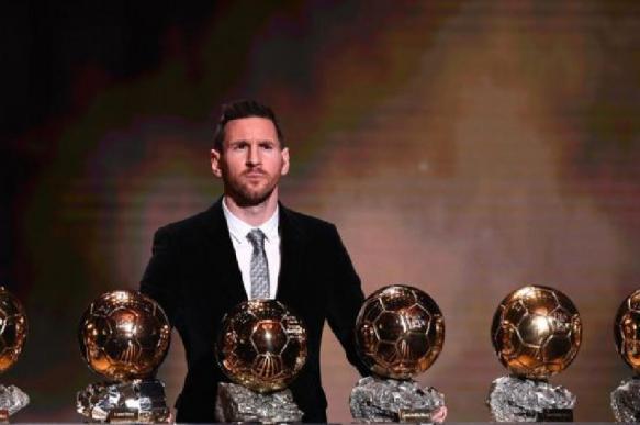 Месси признан лучшим футболистом планеты в шестой раз