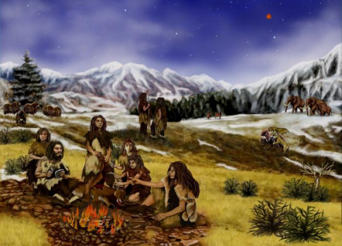 Древние люди готовили пищу без огня