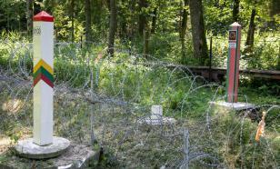 """Колючки"" мало: Литва будет строить на границе металлический забор за €152 млн"