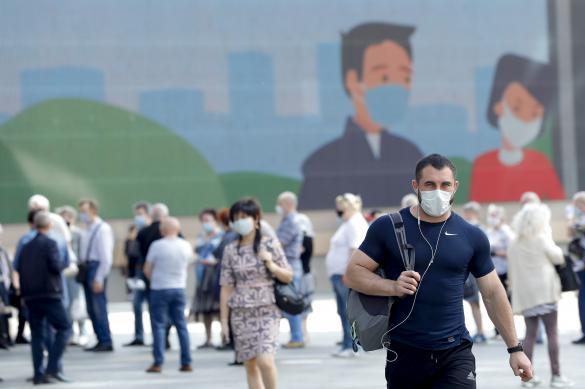 Оперштаб: в Москве все меньше новых заболевших
