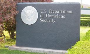 В здании министерства внутренней безопасности США появилась свастика