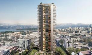 Уникальный гибридный небоскреб построят в Ванкувере