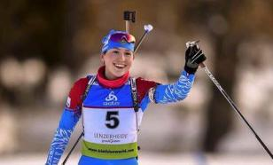 Васнецова победила в спринте и вышла в лидеры Кубка IBU