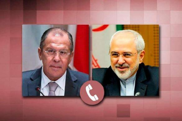 Главы МИД России и Ирана обсудили борьбу с коронавирусом