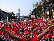 """Лидеры """"красных рубашек"""" сдались властям"""