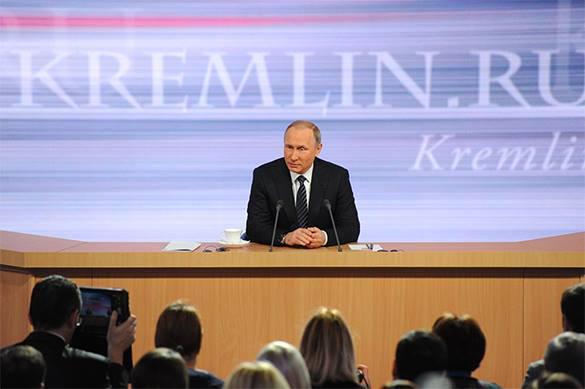 Путин: Россия не вводит санкции против Украины. Прямая трансляция с большой пресс-конференции