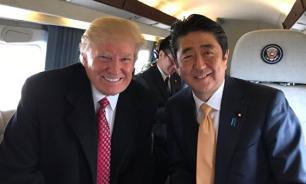 Трамп прибыл в Японию для игры в гольф с японским премьером
