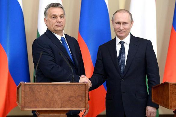 Путина с Орбаном сближает нелюбовь к Украине