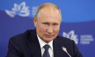 Путин похвалил Зеленского за отведение сил в Донбассе