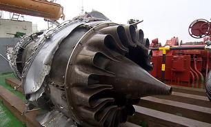 Двигатель Ту-154 был поврежден