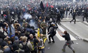 "Во Франции жёстко разогнали протесты против закона ""о безопасности"""