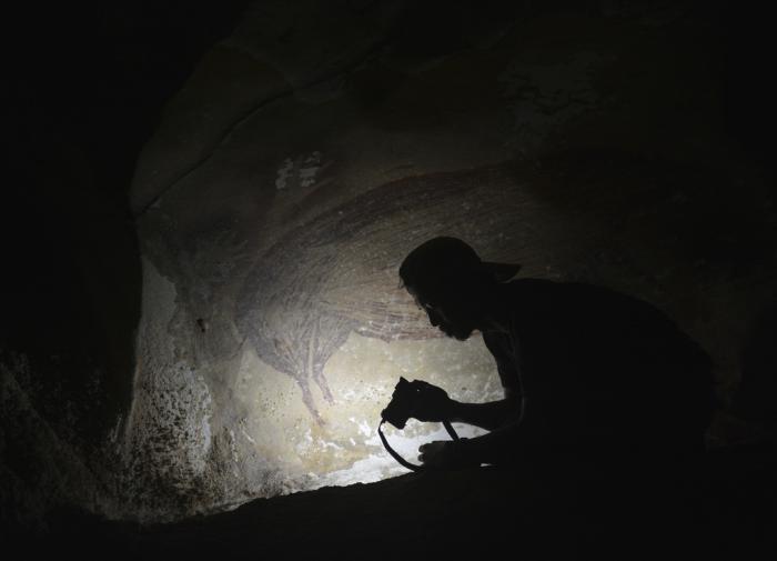 В Индонезии обнаружен наскальный рисунок, которому более 45 тысяч лет