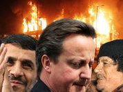 Ливия и Иран - на защите британской революции