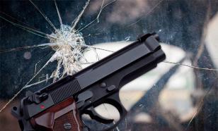 Пьяный сибиряк-лихач уснул в расстрелянной ГИБДД машине