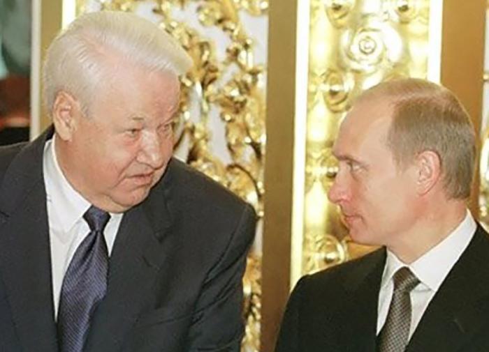 Путин призвал сохранить память о Ельцине