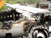 Самолет раскололся при посадке в аэропорту Эр-Рияда