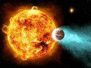 Хвостатая планета танцует со звездой