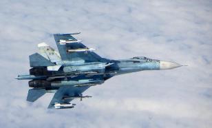 Скорость и злые ракеты: опубликовано видео перехвата Су-27 разведчика США