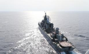 """Российский """"Варяг"""" прибыл к берегам Южной Кореи раньше американцев"""
