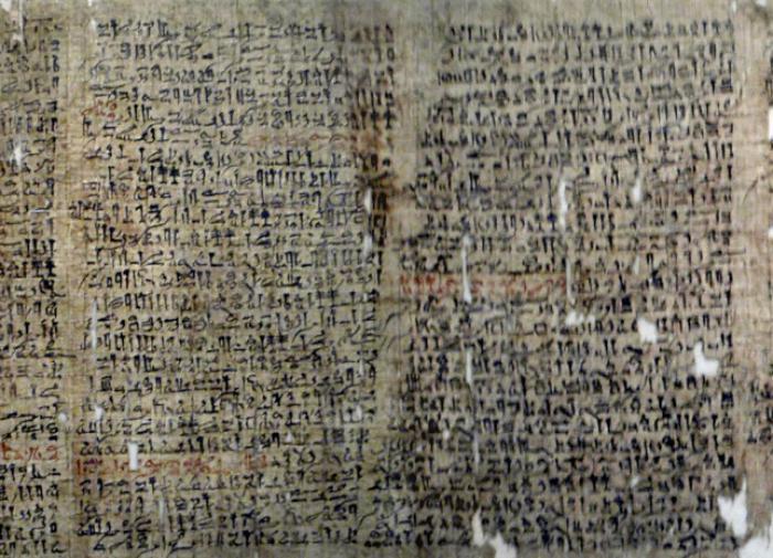 Древнеегипетские писцы открыли уникальные свойства свинца