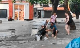 Краснодарский край затопило после сильной жары
