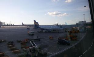 """""""Аэропорт"""" согласен с МАК: год назад самолет сгорел из-за ошибки пилота"""