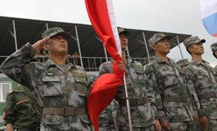 Вооружённые силы Китая провели учения около Тайваня