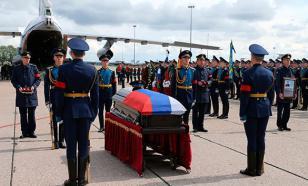 Героя России Александра Прохоренко похоронили в родном селе