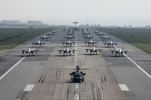 Эксперт: авиация НАТО усилила разведку у Калининграда перед учениями
