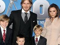 В звездной семье Бекхэмов появился четвертый ребенок.