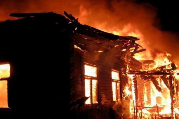 Трое детей погибли в пожаре в Свердловской области