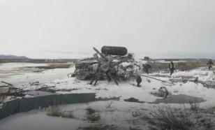 СК возбудил уголовное дело после крушения вертолета на Чукотке