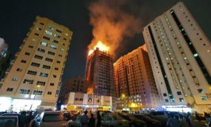В ОАЭ загорелся 49-этажный небоскреб. Есть жертвы