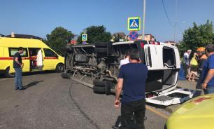 26 человек пострадали из-за столкновения автобусов в Сочи