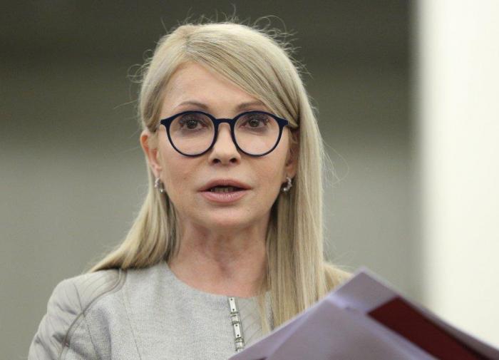 Тимошенко назвала сенсационной цену газа на Украине и обвинила кабмин во лжи