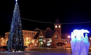 Выборг оказался самым популярным в Ленобласти новогодним городом