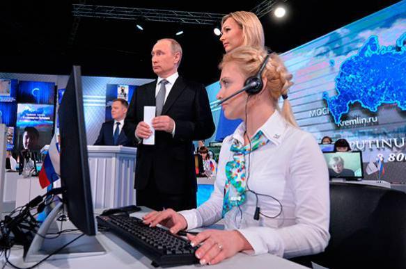 """""""Мат? Есть грех, отмолим!"""": Пять необычных вопросов Путину"""