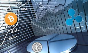 Анализ цен трёх токенов: BTC, ETH, XRP