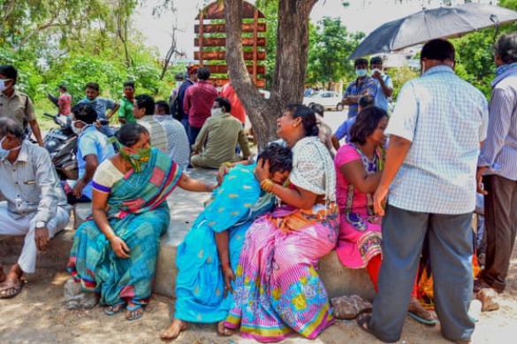 Завод в Индии, где произошла утечка ядовитого газа, работал незаконно