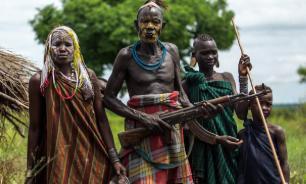 Необычные ритуалы современных диких племен