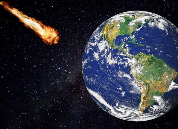 Астероид размером с дубайский небоскрёб Бурдж Халифа движется к Земле