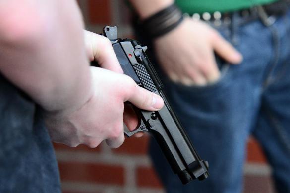 Отцеубийца застрелился на глазах милиционеров