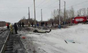 Столкновение поезда и автомобиля в Башкирии: есть жертвы