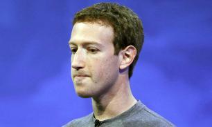 Facebook рухнул: капитализация компании упала на 58 млрд долларов