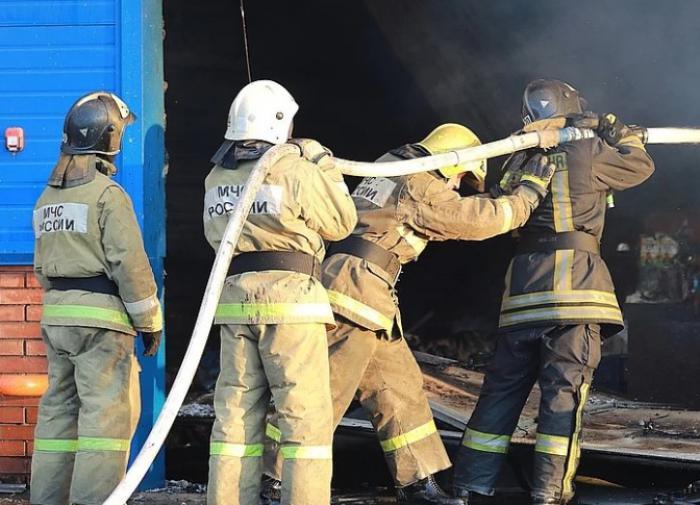 Пожар в гостиничном комплексе Красноярска локализован