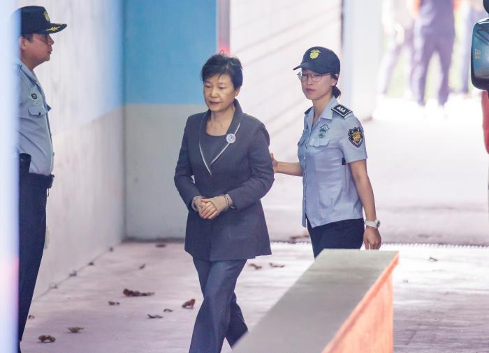 Судьи Южной Кореи определились со сроком для бывшего президента