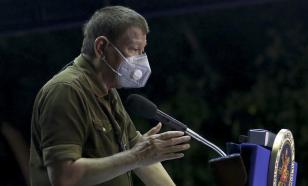 Президент Филиппин предлагает вакцинировать антипрививочников во время сна